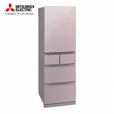 【MITSUBISHI 三菱】455公升 日本原裝五門變頻冰箱-水晶粉 MR-B46Z-P