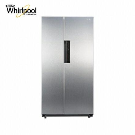 【Whirlpool 惠而浦】600公升對開冰箱創意經典系列 WHS21G