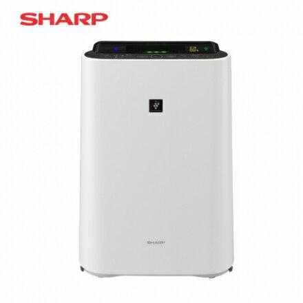 【SHARP 夏普】14坪 水活力空氣清淨機-白色 贈除甲醛車用清淨機(KC-JD60T-W/KC-JD60T)