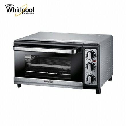 【Whirlpool 惠而浦】25公升不鏽鋼旋風烤箱(WTO250DB)