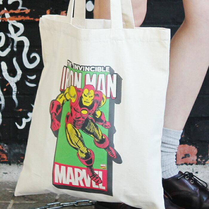 帆布包 Marvel 禮物 SEIO 自定設計環保帆布包 英雄 鋼鐵人 聖誕節交換禮物 手拿 肩背包