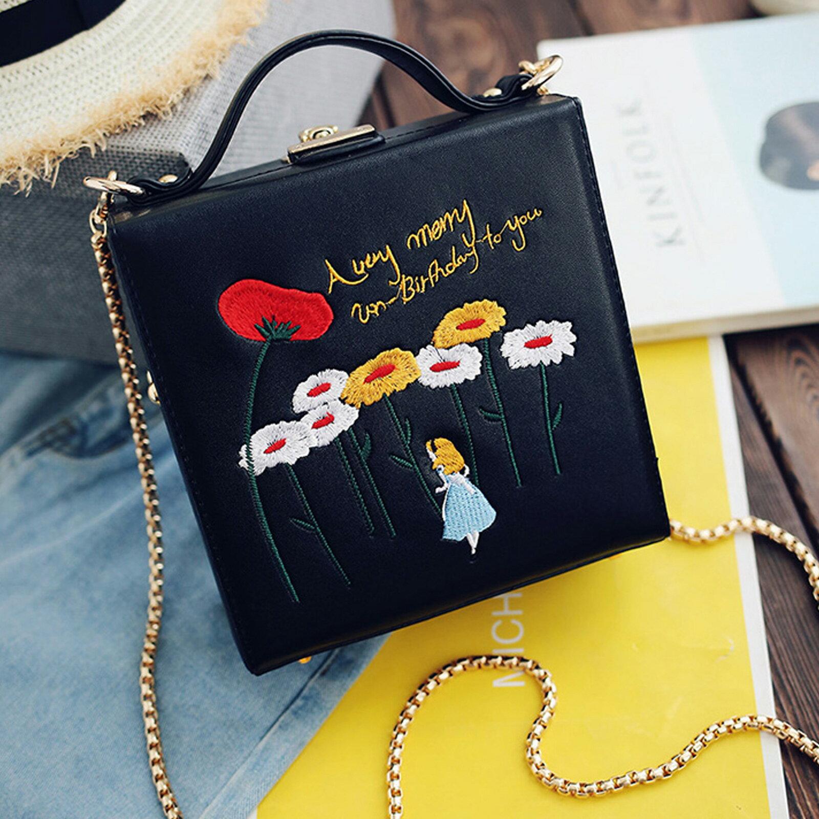 小方包  明星同款時尚童趣箱子側背包【O3172】☆雙兒網☆ 5