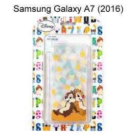 迪士尼透明軟殼[點點]奇奇&蒂蒂 Samsung A710Y Galaxy A7 (2016)【Disney正版授權】