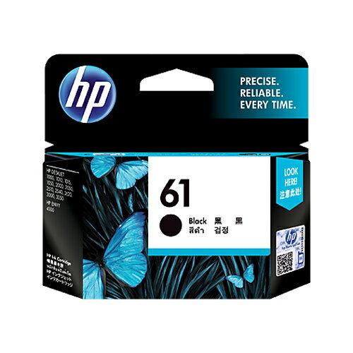 HP 原廠黑色墨水匣 CH561WA 61號 適用 HP Deskjet 1050/1000/1010/1510/2000/2050/2510/2540/3000/3050