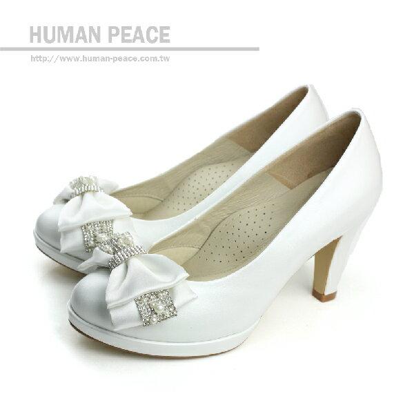 HUMAN PEACE 高跟鞋 白色 女鞋 no186