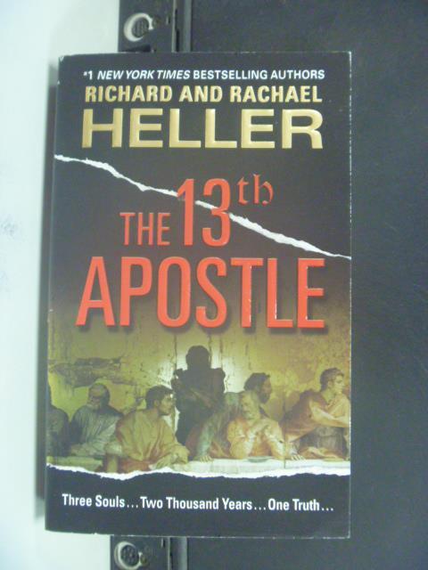 【書寶二手書T3/原文小說_OMA】The 13th Apostle_Heller, Richard