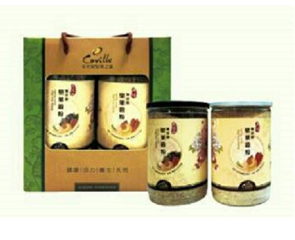 鏡感樂活市集:年節禮品可夫萊養生堅果穀粉禮盒限量.售完為止
