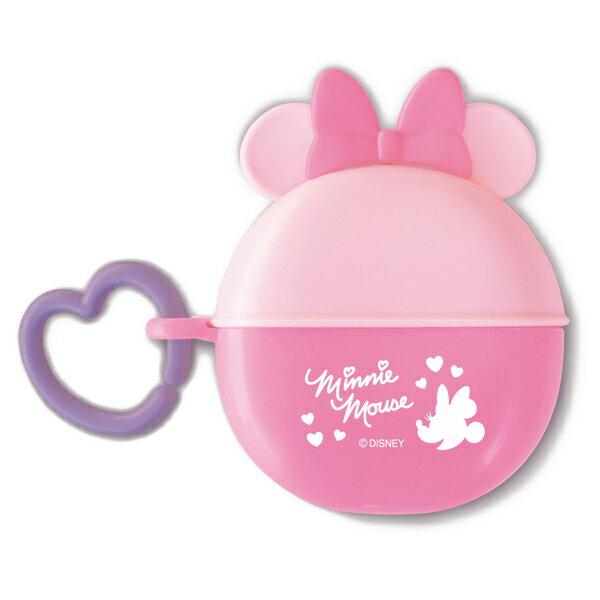 ~衛立兒 館~ 迪士尼 Disney 米妮圓形零食收納盒^~粉色