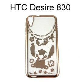 迪士尼電鍍軟殼[項鍊]史迪奇 HTC Desire 830【Disney正版授權】