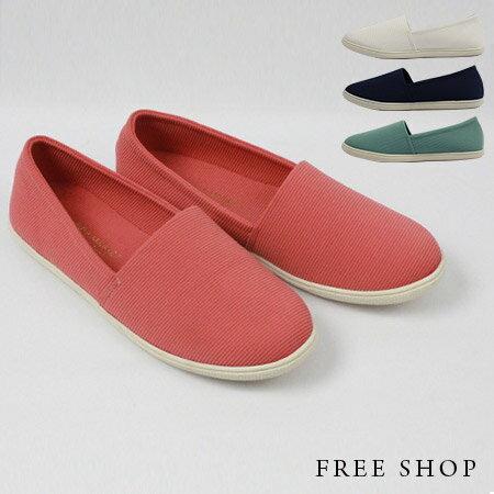 Free Shop~QSH0275~日 極簡休閒舒適 風 低筒休閒鞋懶人鞋‧四色^(N33