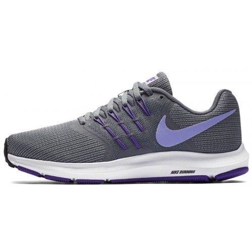 NIKEWMNSRUNSWIFT女鞋慢跑休閒輕量透氣灰紫【運動世界】909006-005