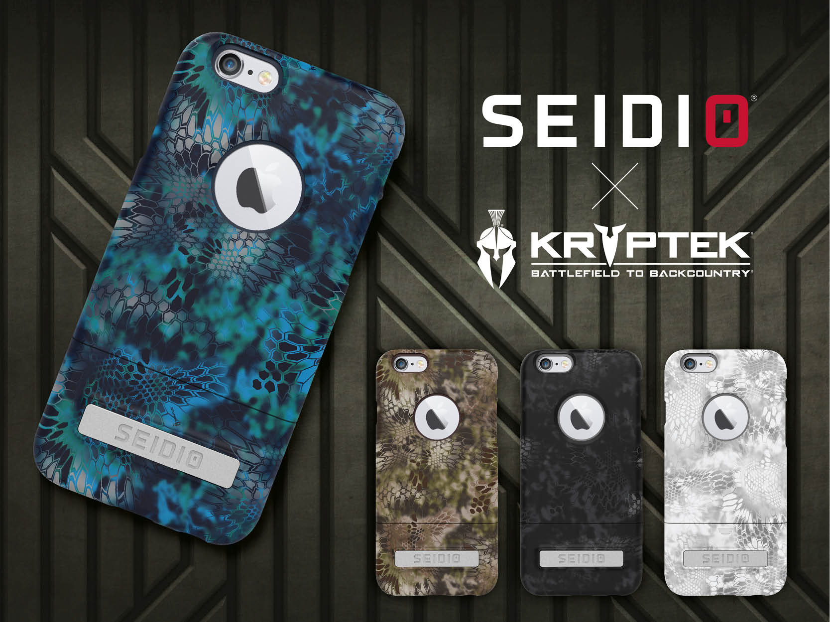 SEIDIO New SURFACE™ x KRYPTEK 迷彩聯名保護殼 for Apple iPhone 6 Plus / 6s Plus