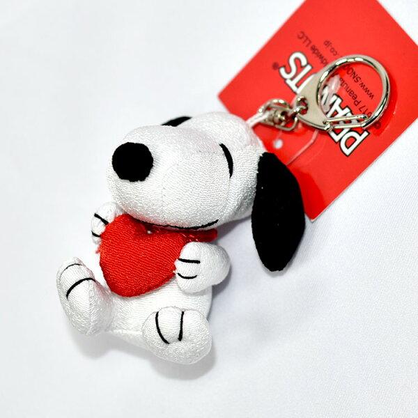 SNOOPY史努比愛心吊飾鑰匙扣日本限定正版商品