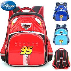正版Disney 迪士尼汽車總動員 閃電麥昆 兒童書包 後背包小學生書包