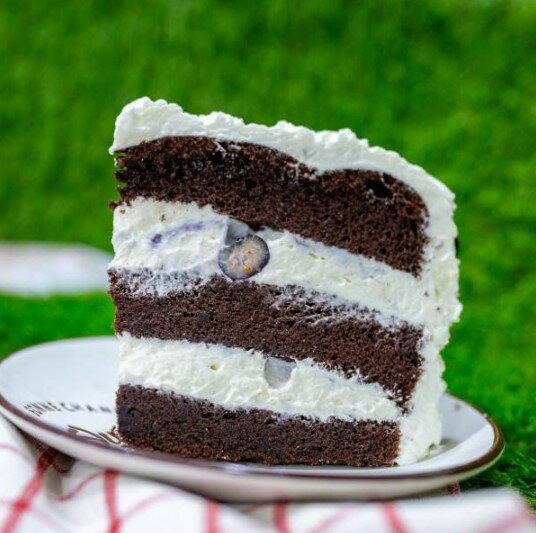 【甜野新星-甜點專賣店】母親節蛋糕 生日蛋糕 - 〈生酮〉BlueMonday 憂鬱星期一 - 新鮮藍莓