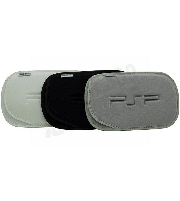 SONY PSP 1000 2000 3000 原廠布包 收納包 主機包 軟包 白色、黑色、銀色【台中恐龍電玩】
