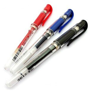 三菱uni-ball UM-153 粗字鋼珠筆 中性筆 / UMR-10 鋼珠筆芯 替芯 / 白色鋼珠筆芯 (2入裝)
