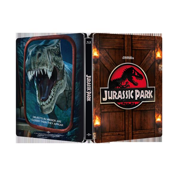 侏羅紀公園 限量進口單碟空鐵盒 Jurassic Park STEELBOOK ( NO DISC )