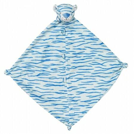 ★衛立兒生活館★Angel Dear 動物嬰兒安撫巾(藍色小虎)#1513