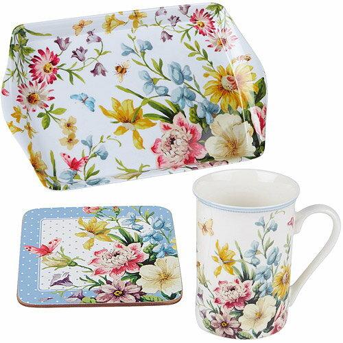 《CreativeTops》Katie馬克杯午茶3件組(花園350ml)