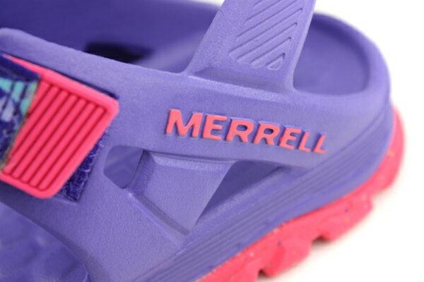 MERRELL 涼鞋 紫色 大童 no055 2