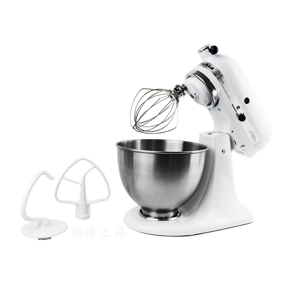 現貨 台灣保固一年 全新 美國 KitchenAid Classic Tilt-Head 4.5QT白色 4-1/2-Quart Stand Mixer 5qT 6qT