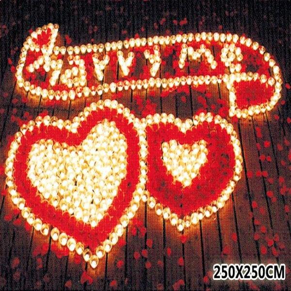 塔克玩具百貨:蠟燭排字求婚表白情人節字母結婚蠟燭套餐結婚吧表白情人節告白106號【塔克】