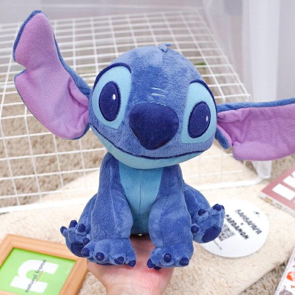 PGS7日本迪士尼系列商品-進口史迪奇Stitch星際寶貝坐姿娃娃玩偶【SJZ71140】