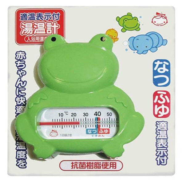 AKACHAN阿卡將 動物造型水溫計-青蛙