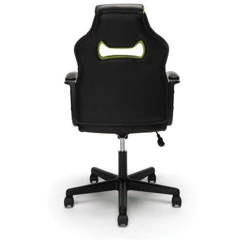 Essentials by OFM Racing Style Gaming Chair, Green 3