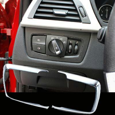 BMW 2系 3系 4系 GT 大燈開關裝飾貼 F45 F22 F46 E46 E90 E91 沂軒精品A0104