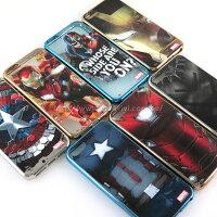 漫威英雄Marvel 周邊商品推薦【MARVEL】iPhone SE/i5/i5s 復仇者聯盟 時尚電鍍保護軟套