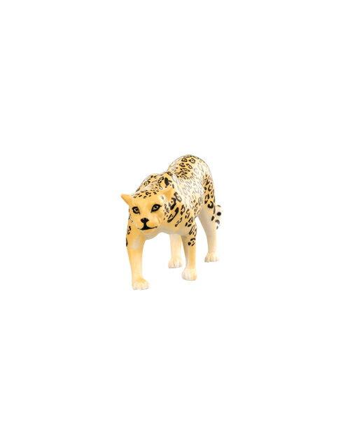 【淘氣寶寶】 美國 B.Toys 感統玩具 Terra 草原動物-美洲豹