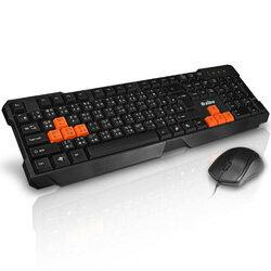 【迪特軍3C】aibo 炎爵 LY-ENKM07 有線鍵盤滑鼠組 (LY-ENKM07)
