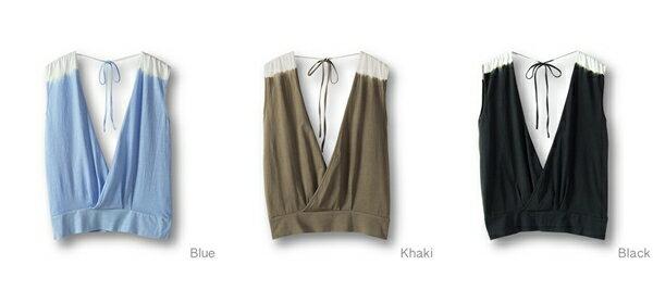 【Bali】100%有機棉Gillet短罩衫 7