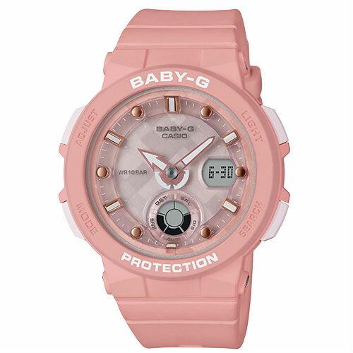 CASIO卡西歐BABY-GBGA-250-4A海洋靈感霓虹雙顯流行腕錶