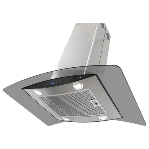 """AKDY New 36"""" European Style Island Mount Stainless Steel Range Hood Vent Touch Sensor Control W/Both Side Accessible Control AKTK-H603B-90 2"""