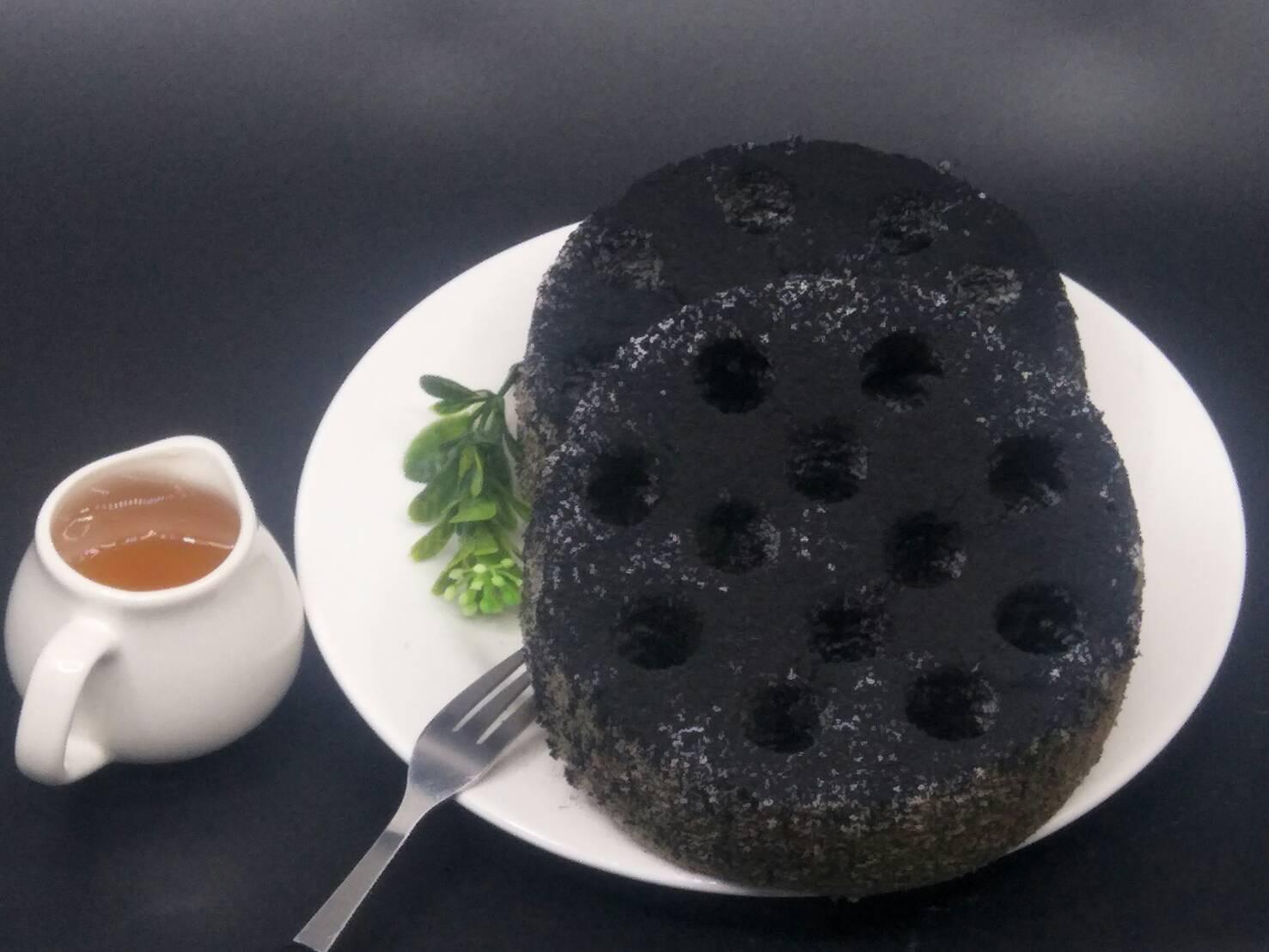 造型蜂窩煤蛋糕(芝麻口味) 4吋