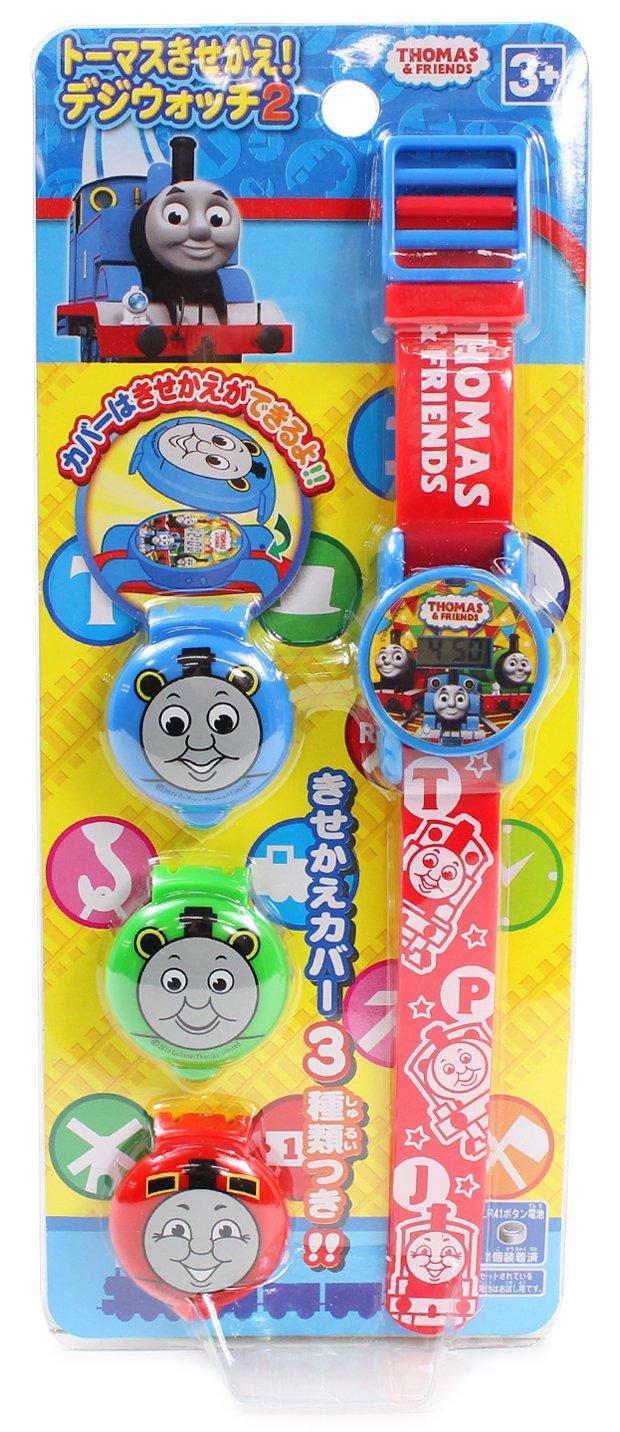 X射線【C013238】湯瑪士造型電子手錶,時鐘/掛鐘/壁鐘/座鐘/鬧鐘/鐘錶/手錶/潛水錶/Thomas