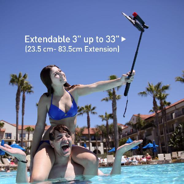 DiCAPac DRST-C1(有現貨) 高耐磨手機防水袋+自拍器+臂帶+腳架(5.1吋以下)