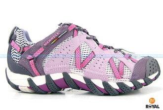 MERRELL 新竹皇家 WATERPRO MAIPO 粉紫 防水 水陸兩棲 運動鞋 女款 NO.I3984