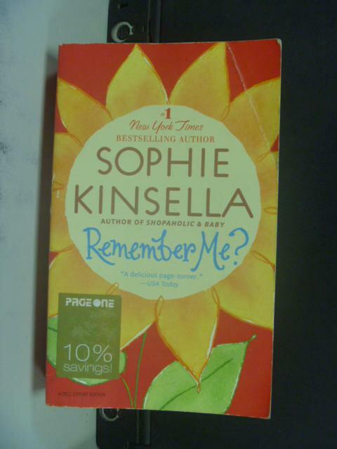 【書寶二手書T3/原文小說_KFJ】Remember Me_Kinsella, Sophie