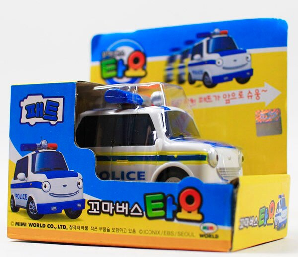 *babygo*TAYO小巴士 - 派特小警車(TT41059)