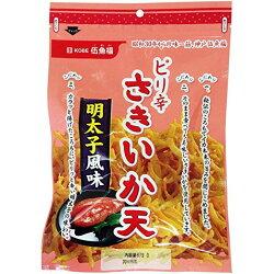 日本美食 神戶老牌 伍魚福 明太子 風味 辣味 炸魷魚酥