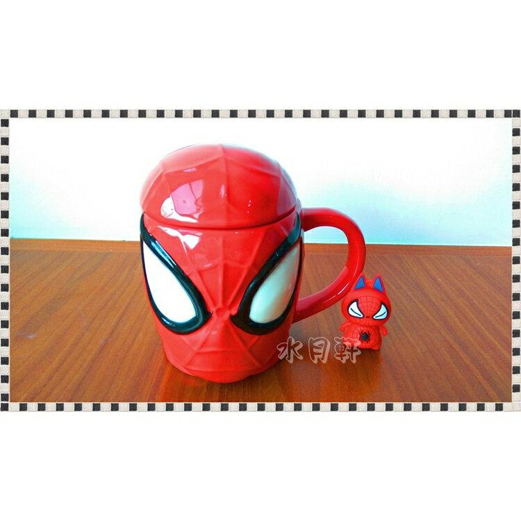 【MARVEL】日本直送x正版現貨 蜘蛛人馬克杯 3D立體 SpiderMan Mug 杯子 @水月軒