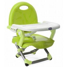 【淘氣寶寶】義大利 Chicco Pocket snack攜帶式輕巧餐椅座墊/餐椅【萊姆綠】