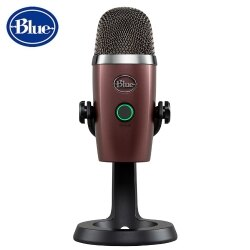 美國BLUE YETI Nano小雪怪USB麥克風【勃根第酒紅】全產品享兩年公司保固  電競◆錄音◆練唱 專業級首選