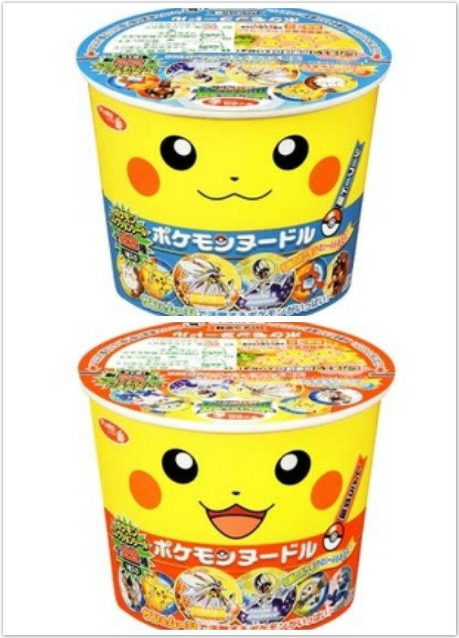 日本 寶可夢 皮卡丘 泡麵 營養泡麵 杯裝泡麵 海鮮泡麵 醬油泡麵 兒童泡麵 一番泡麵 櫻花寶寶