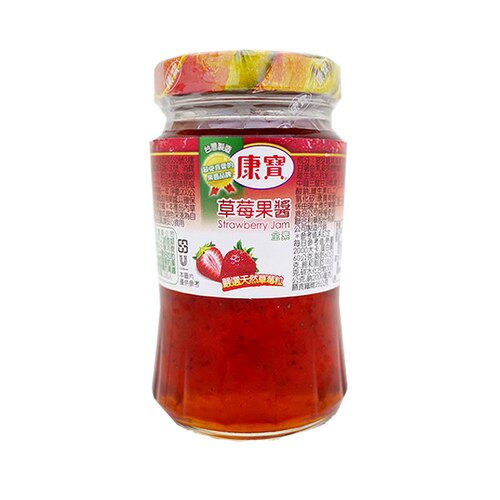 康寶 草莓 果醬 200g