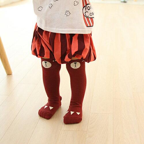 ~hella 媽咪寶貝~韓國 Mini Dressing 嬰幼兒  小童及膝襪  長襪_酒